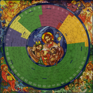 liturgical year calendar