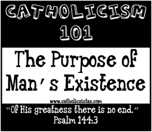 existence of man