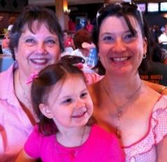 three generations of breast cancer survivors