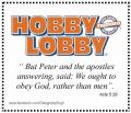 Hobby Lobby defies HHS Mandate
