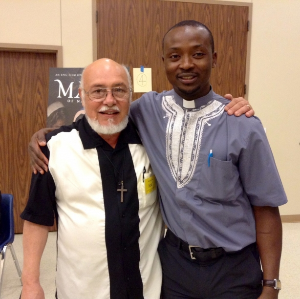 Meet instructors of the Jesus Is Lord course, Noe Rocha - director of Adult Faith Formation and Father Uche Andeh.