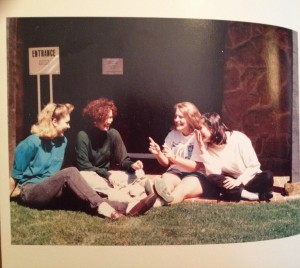 Me, on the far right with other yearbook editors.