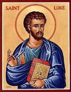 Happy Feast Day, St. Luke