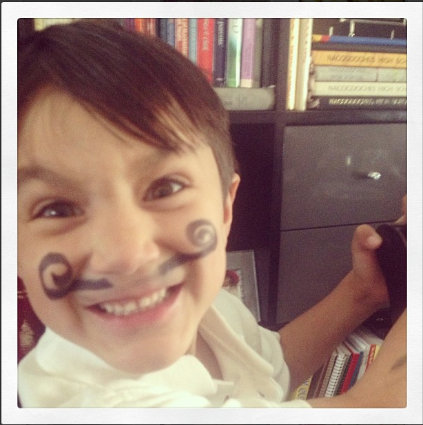 If you have a face, and sister has a marker, you *will* be drawn on.