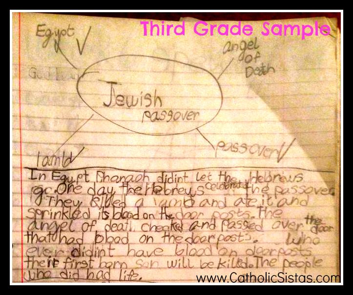 Third Grade Sample Writing