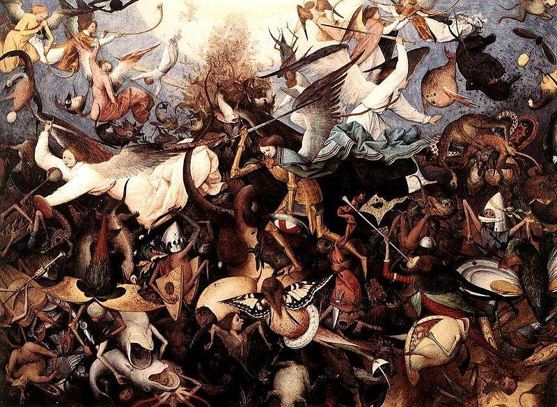 The Fall of the Rebel Angels, Pieter Bruegel the Elder, 1562