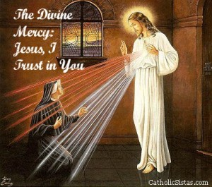 jesus and st faustina