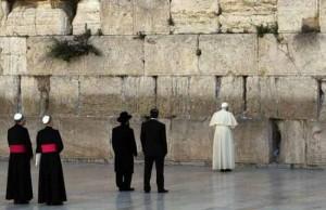 pope john paul wailing wall