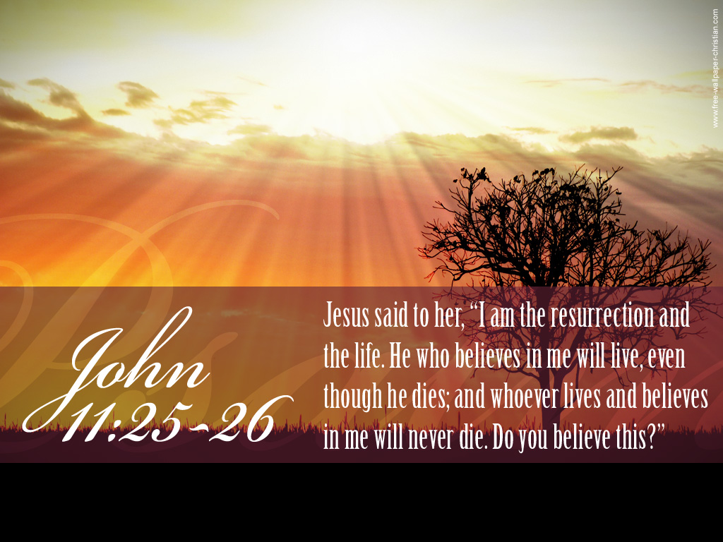 resurrection and life