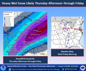 snow likely