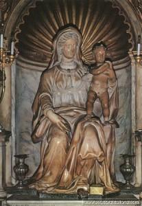 Jacopo Sansovino - Madonna del Parto (Roma, Sant'Agostino)