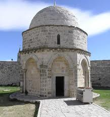 Chapel of the Ascension in Jerusalem