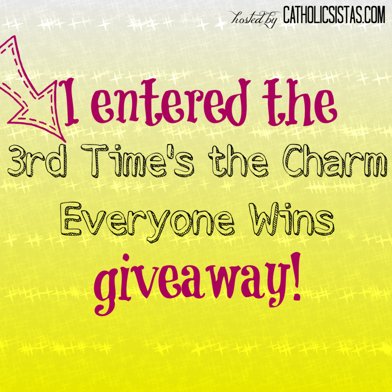 Entered to win!