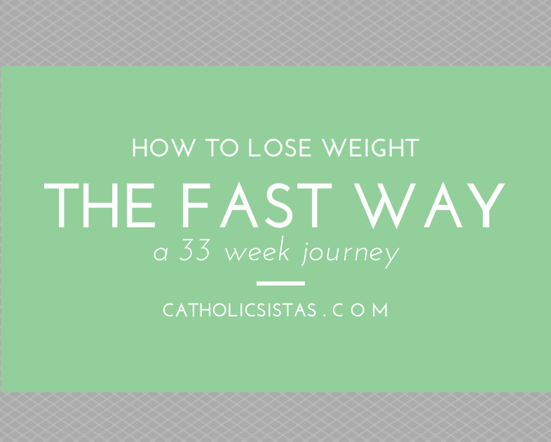 How to Lose Weight the Fast Way