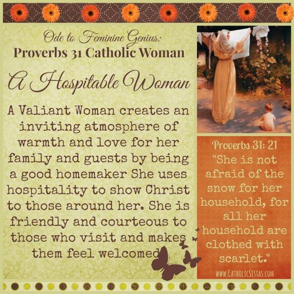 Hospitable Woman