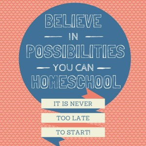Homeschooling is possible