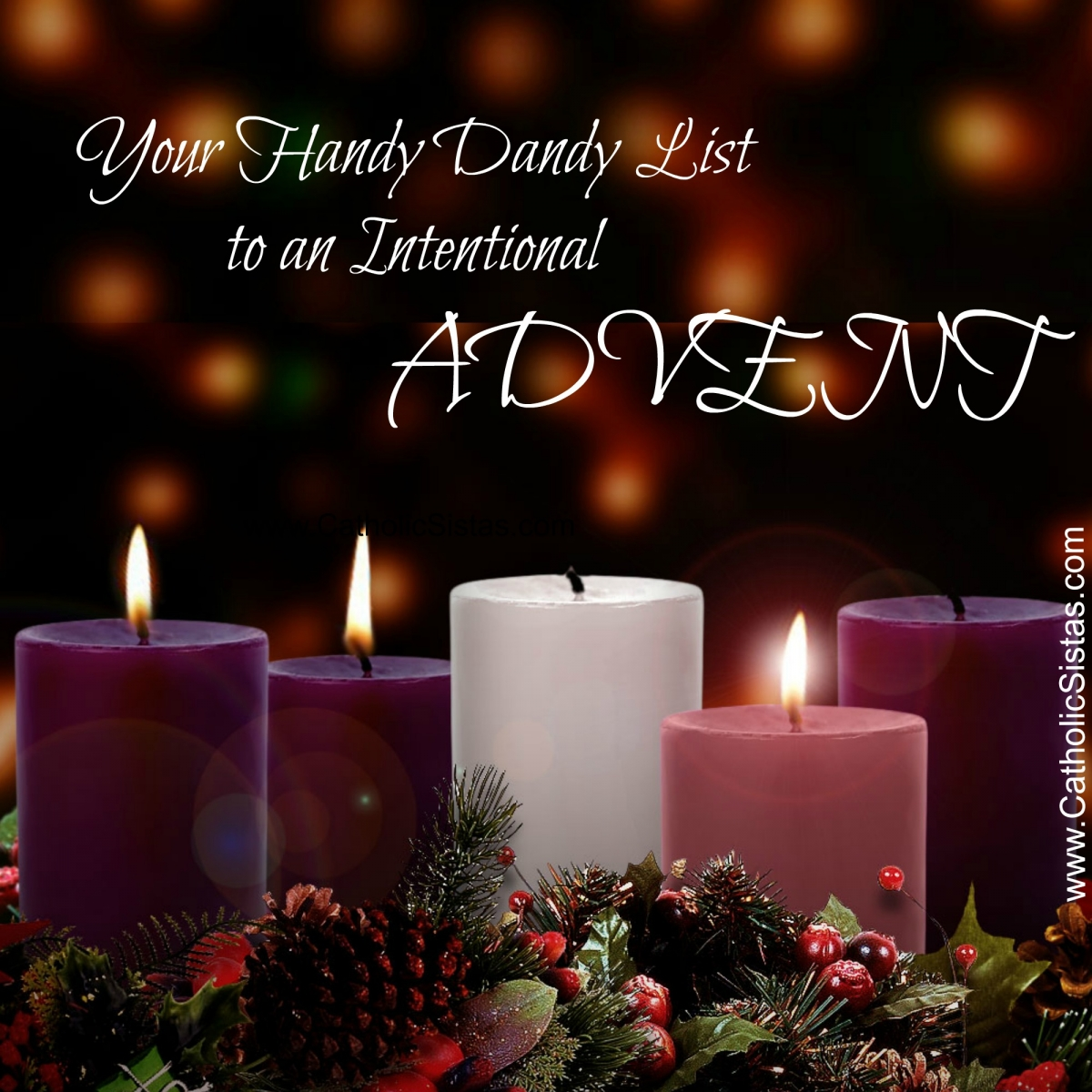 Your Handy Dandy List to an Intentional Advent - Catholic ...