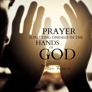 pray mother teresa