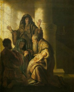 Simeon and Anna Recognize the Lord
