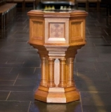 7 baptismal font