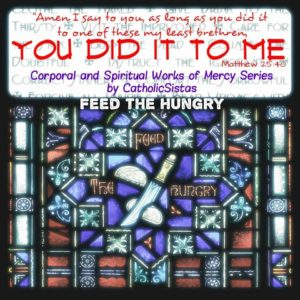 Feed The Hungry Graphic