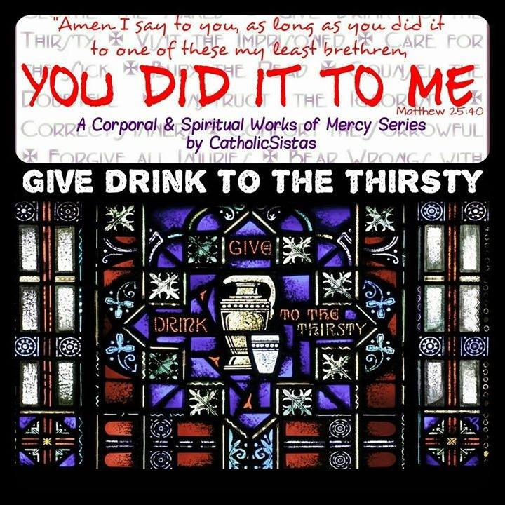 give drink to the thirsty