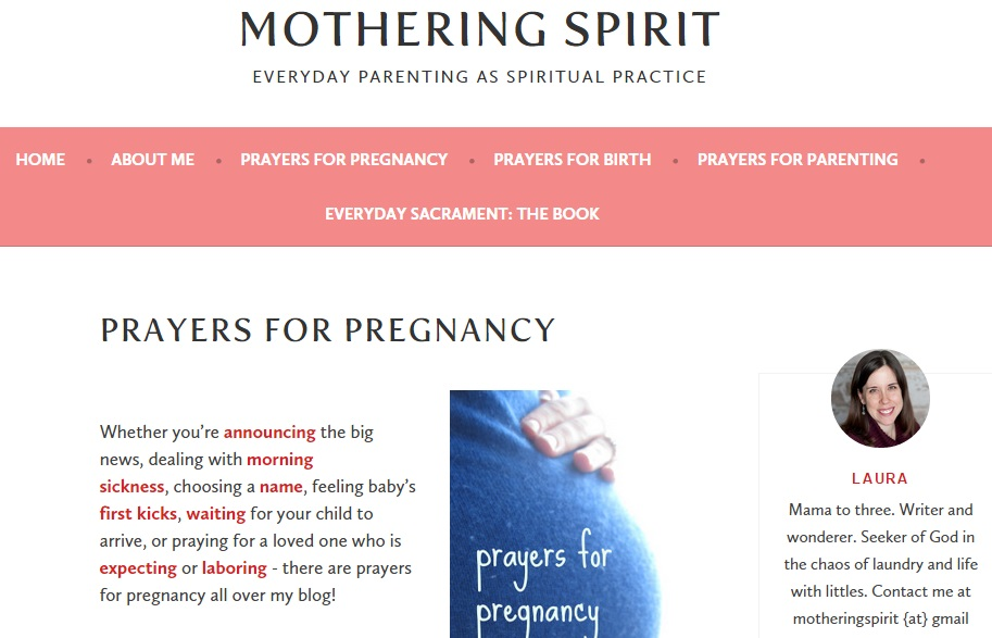 blog homepage