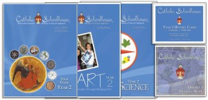 Includes Year 2 Tour Guide, Year 2 Art Book, Year 2 Science Book, Year 2 History Cards and Year 2 Memory Work CD set. Price: $169