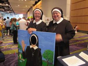 The Sisters sharing the joy of their vocation.