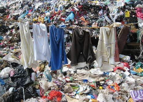 landfill clothes