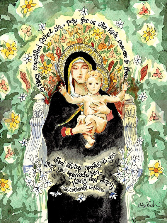 Our Lady of the Lilies