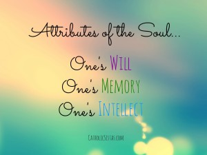 attributes of the soul