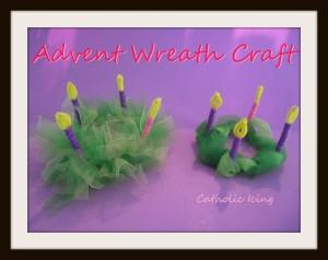 Advent wreath mod