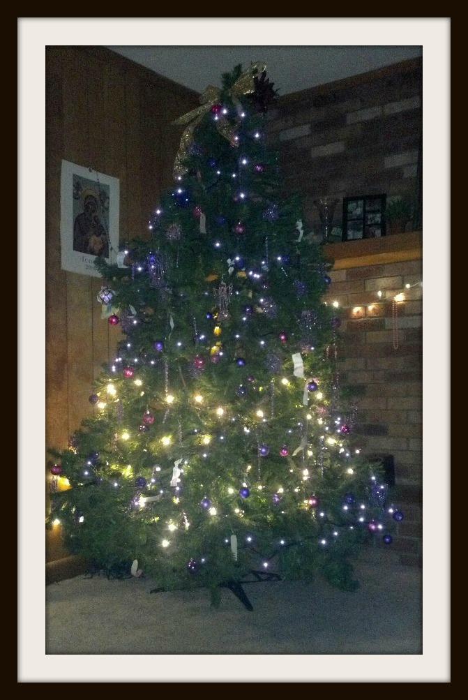 nov advent tree