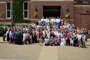 At the Sacred Music Colloquium with all the participants.  What an amazing experience this was.