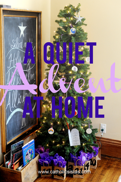 A Quiet Advent at Home