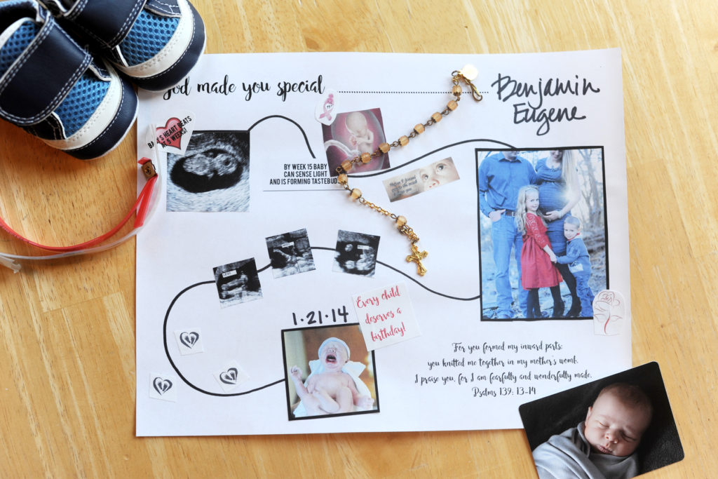 God Made you Special Project by Janalin Hood