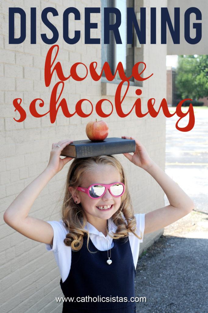 Discerning Homeschooling