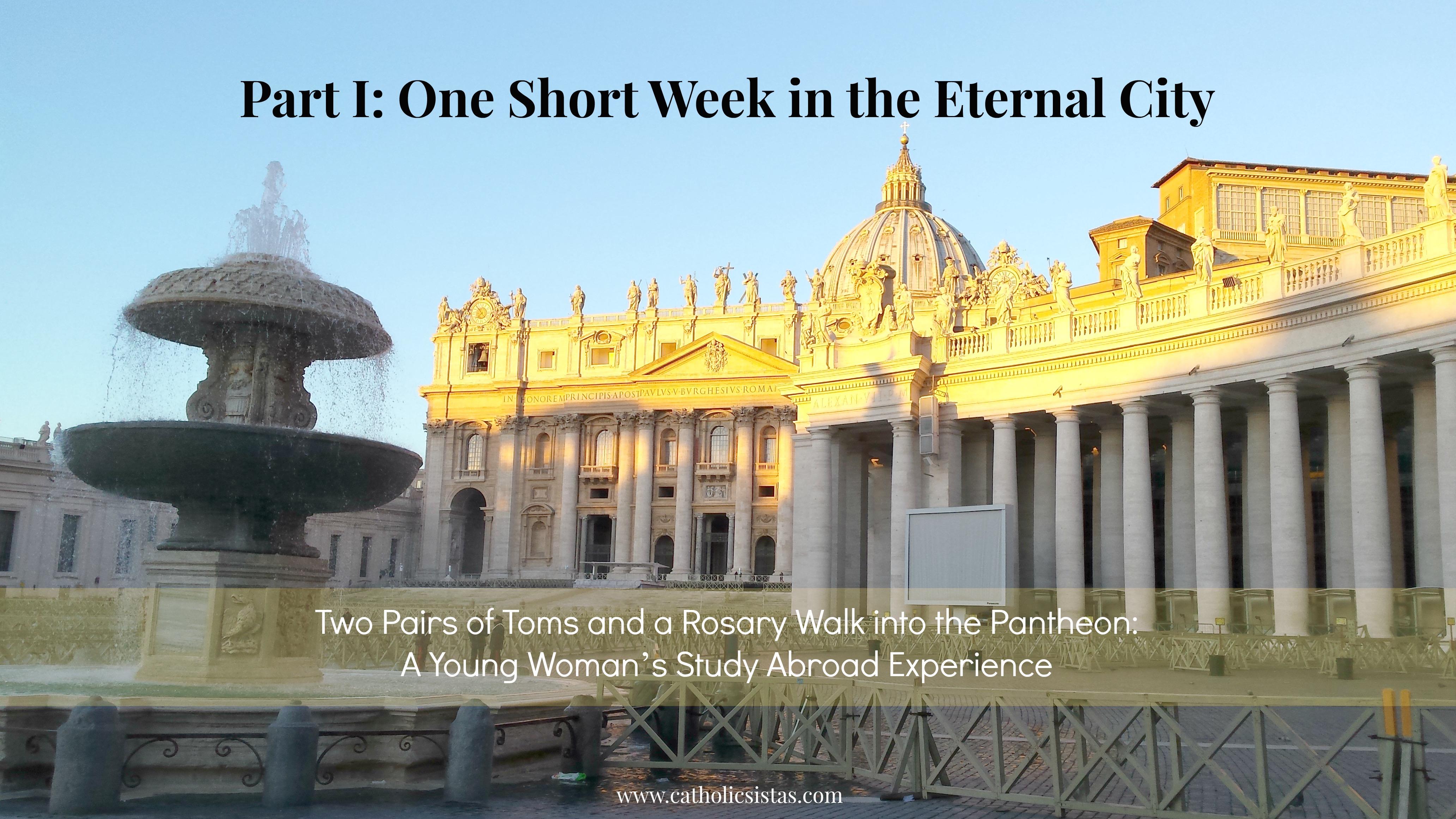 Series Photo, Rome, Eternal City, St. Peter Basilica