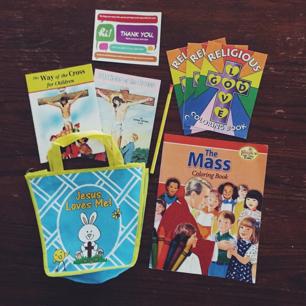 Review: Catholic Faith Box - For Kids!