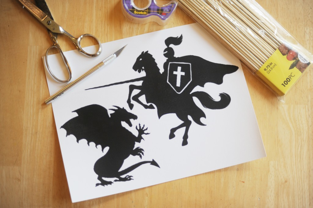 St. George Shadow Puppets