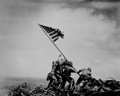 Viral Photos Change the Sacred to the Profane - Few know that 30,000 Americans died at Iwo Jima, making this iconic photograph one of the most staggering exampled of human suffering and sacrifice.