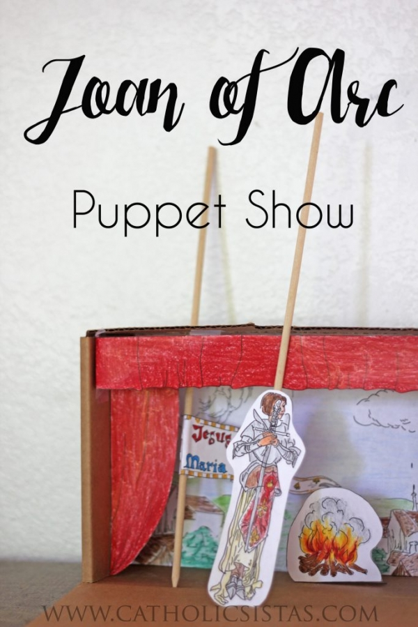 Joan of Arc Puppet Show