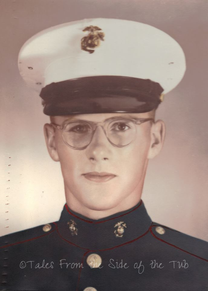 My father and hero Master Gunnery Sergeant Clifford J. Dow