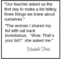 Michelles quote
