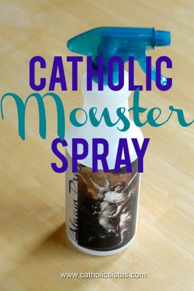 Catholic Monster Spray