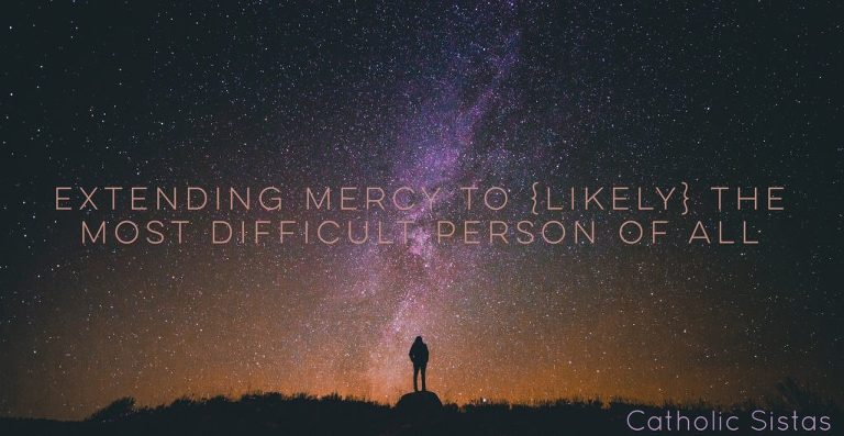 Extending Mercy to {Likely} the Most Difficult Person of All