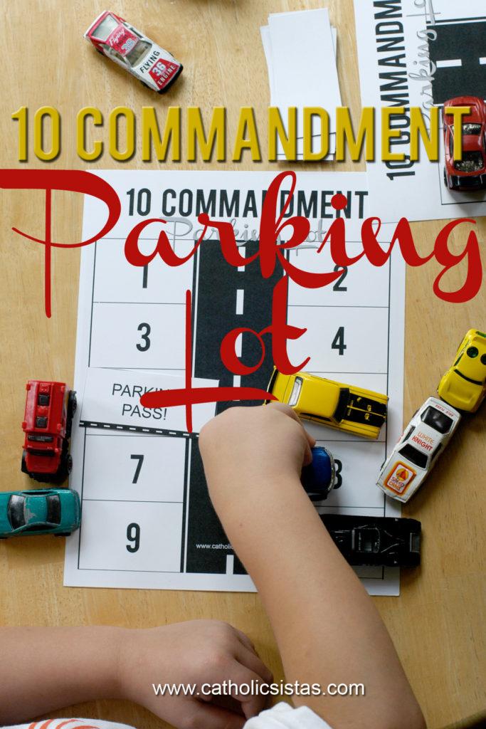 10 Commandment Parking Lot