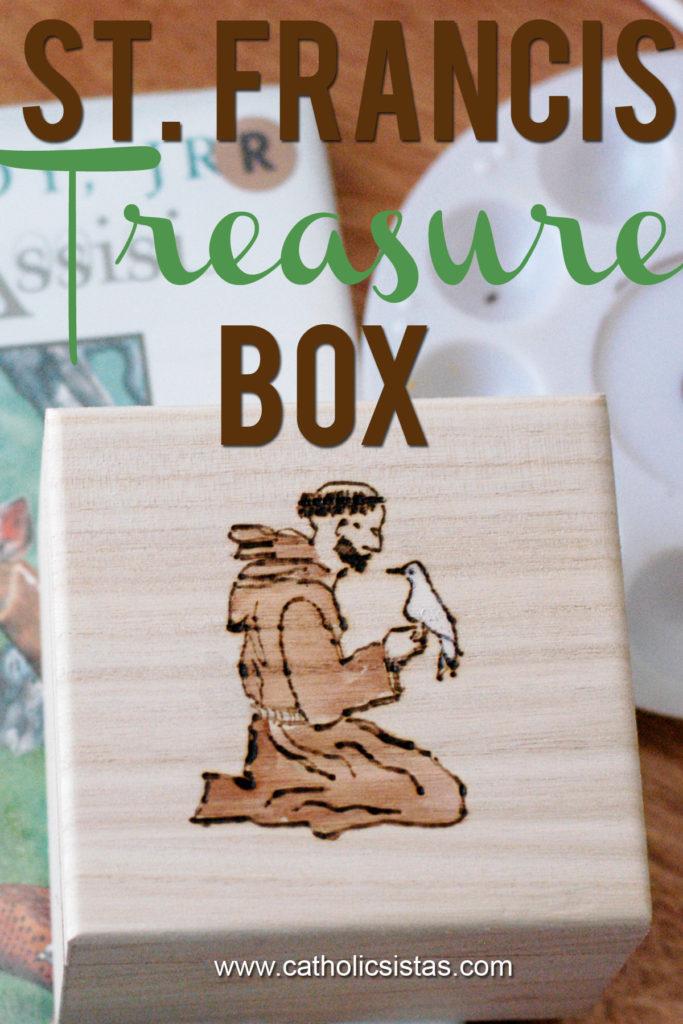 Saint Francis Treasure Box DIY
