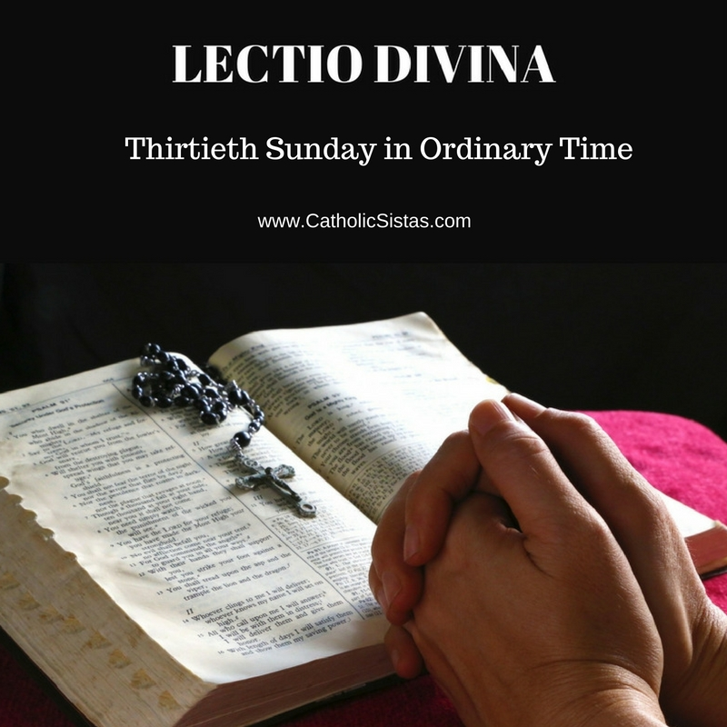 thirtieth-sunday-in-ordinary-time